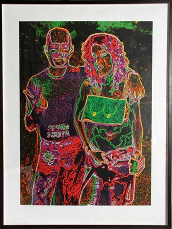 wasted youth by leon golub