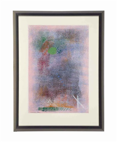 untitled (berne series) (2 works) by robert natkin