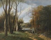 paysage animé by nicolas rousseau