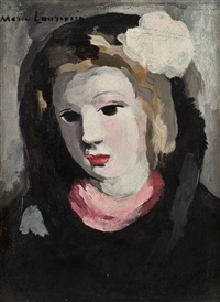 portrait of a woman by marie laurencin