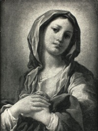 the virgin mary by domenico corvi