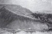 effet de neige, vallée de la seine, rouen by raymond quibel