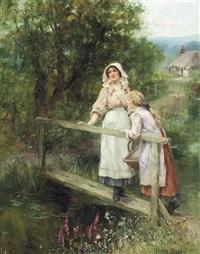 at the brook by henry john yeend king