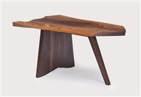 slab coffee table by mira nakashima-yarnall