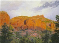 evening, sedona by marlin linville