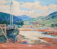 la bature, baie st. paul by frederick william hutchison