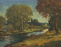 autumn river by miles jefferson early