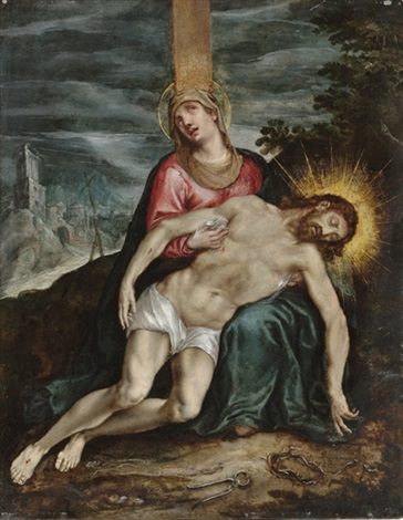 the lamentation by hispano flemish school 17