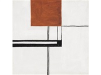 composition: study for a rug by eileen gray