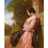 contemplation by henry lejeune