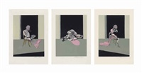 triptych august 1972 (set of 3) by francis bacon
