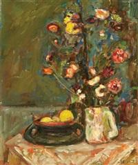 flower vase by zvi shor