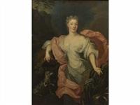 portrait de charlotte aglaé d'orléans, duchesse de modène en source by pierre gobert