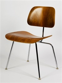 low side chairs (model lcm; set of 6) by charles and ray eames