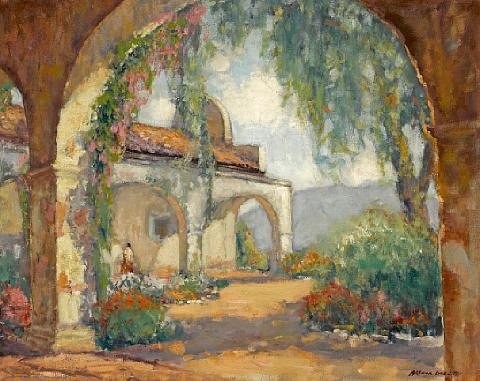 mission san juan capistrano by arthur hill gilbert