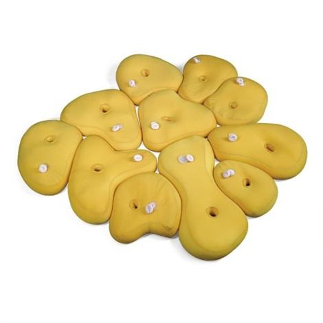 single colour colony yellow in 11 parts by ernesto neto