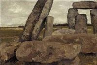 stonehenge, wiltshire by laura theresa alma-tadema