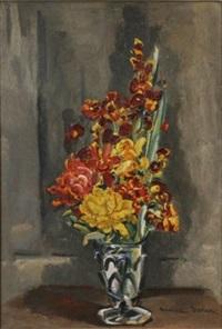 bouquet de fleurs by maurice savreux