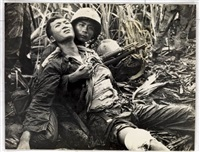 combat victims, south vietnam by horst (ph) faas