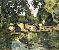 le pont a olivet by alexei sokolov