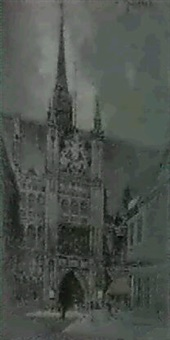 guildhall by george wharton edwards