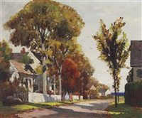 country lane, rockport by anthony thieme