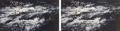 river still diptych by rodney graham