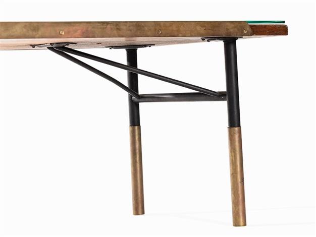 Stupendous Finn Juhl For Bovirke Tablebench Bo 101 Denmark 1952 On Pabps2019 Chair Design Images Pabps2019Com