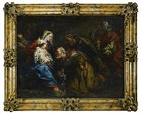 the adoration of the magi by giuseppe antonio pianca