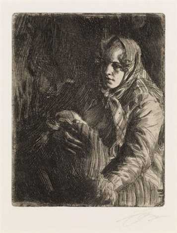 madonna by anders zorn