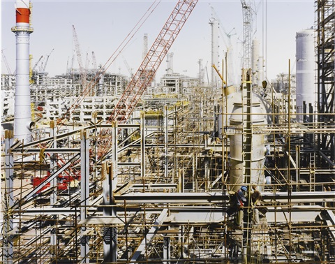 Construction of Reliance Industries Ltd  Refinery 1