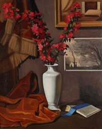 fleurs de pommiers by roger henri jean-mairet
