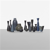 collection of fifteen vessels (15 works) by carl-harry stålhane