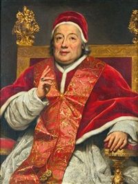 Portrait of Pope Clement XIII (1693-1769)