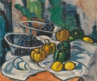 stilleben mit früchten by otto beyer