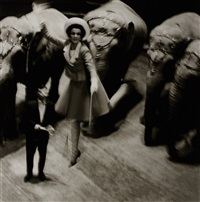 fly elephants (harper's bazaar), paris by melvin sokolsky