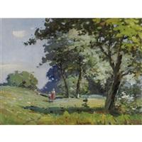 landscape by vasili semenovich svarog