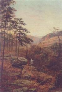 a moorland stream by alfred addy