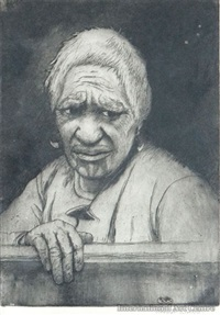 maori woman by trevor lloyd