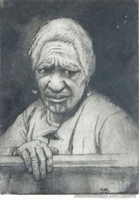 maori woman by trevor lloyd