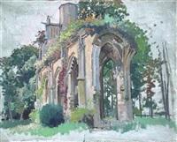 senlis, l'abbaye de la victoire by constantine kluge