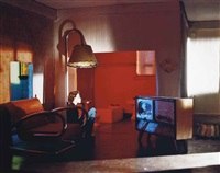 long house (tv room) by laurie simmons