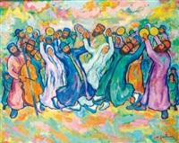 la danse hassidique by nathan gutman