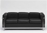 sofa lc2 by le corbusier