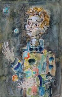 arlequin jongleur by paul aïzpiri