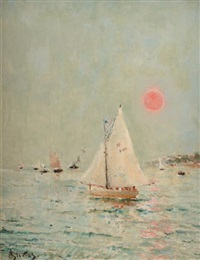 le havre by alfred stevens