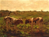 two heifers by fedor van kregten