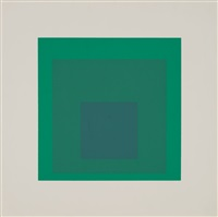 soft edge-hard edge portfolio by josef albers