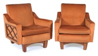armchairs (pair) by rosando brothers