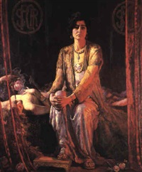herodias and her daughter by ernest lee major